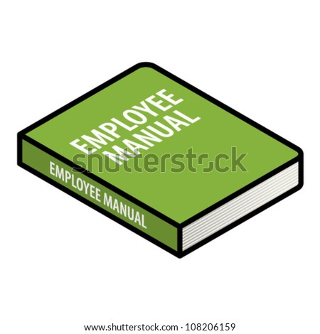 Human resources (HR) concept: an employee manual.