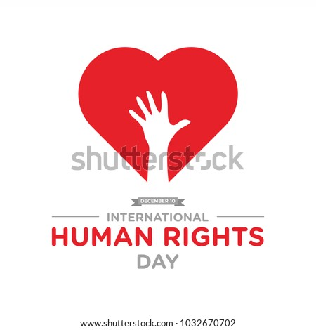Human Rights Day Banner vector