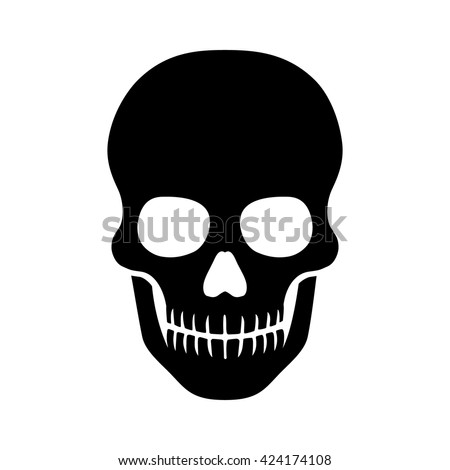 human skull   death or dead