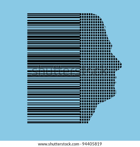 humans identified by barcode