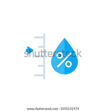 humidity level vector