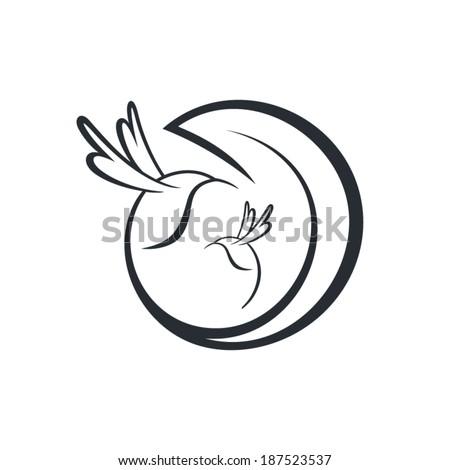 hummingbird sign branding