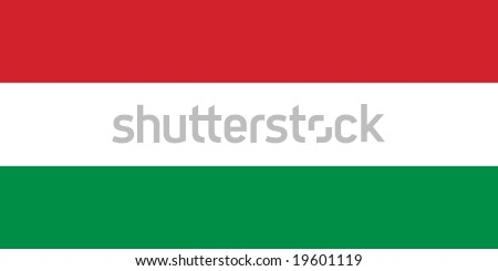Hungary flag vector illustration