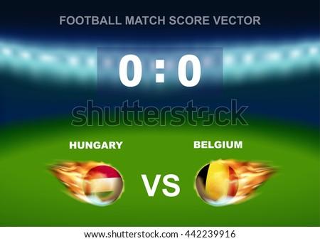 hungary vs belgium soccer ball