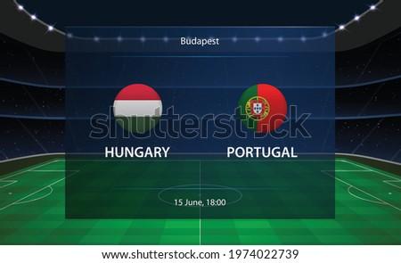 hungary vs portugal football