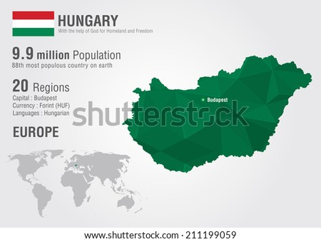 Budapest hungra descargue grficos y vectores gratis hungary world map with a pixel diamond texture world geography gumiabroncs Choice Image