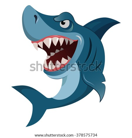 hungry shark  angry shark