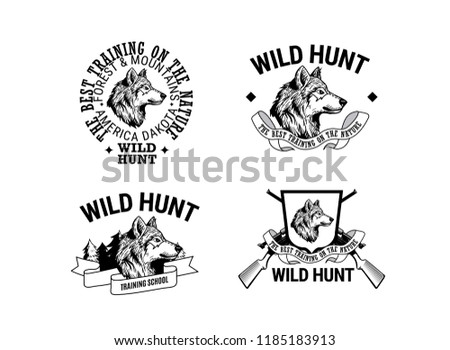 gun club logos download free vector art stock graphics images