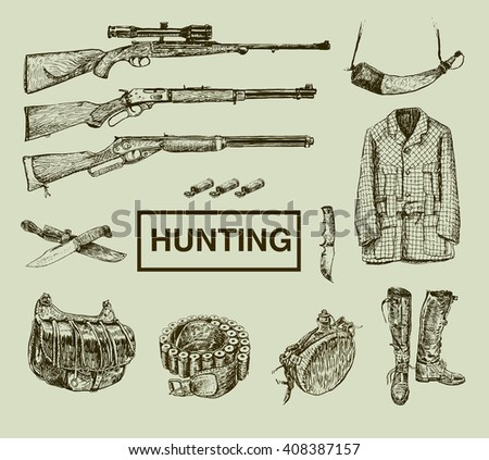 hunting and outdoor equipment