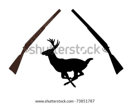 running deer silhouette clipart finders download vector about target arrow item 1