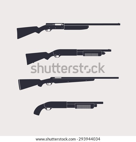 hunting rifles  shotguns