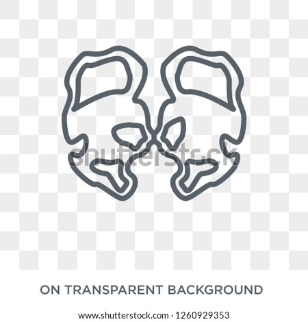 Huntington's disease icon. Trendy flat vector Huntington's disease icon on transparent background from Diseases   collection. High quality filled Huntington's disease symbol use for web and mobile