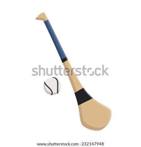Hurley Stick and Ball