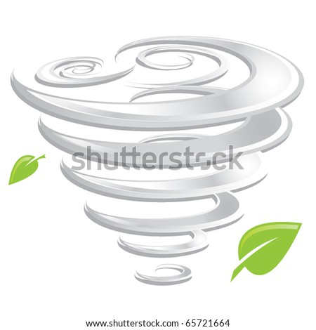hurricane - stock vector