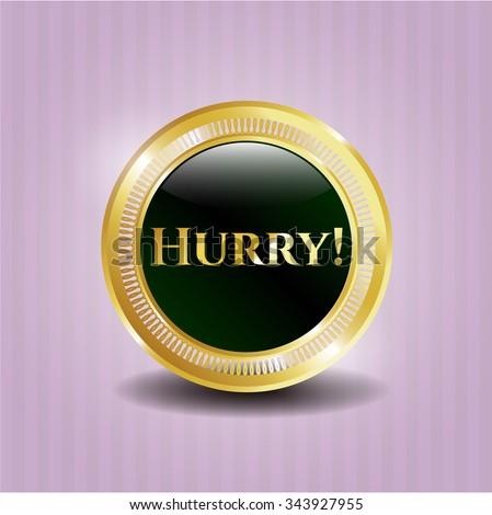 Hurry! shiny emblem