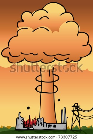 hydrogen explosion plume rises