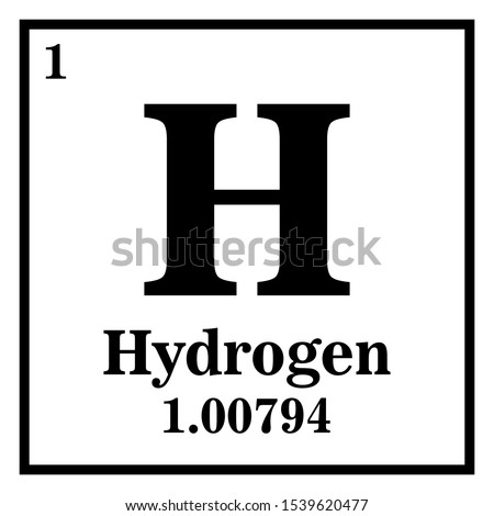 hydrogen periodic table of the