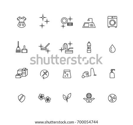 Hygiene icons set,Vector