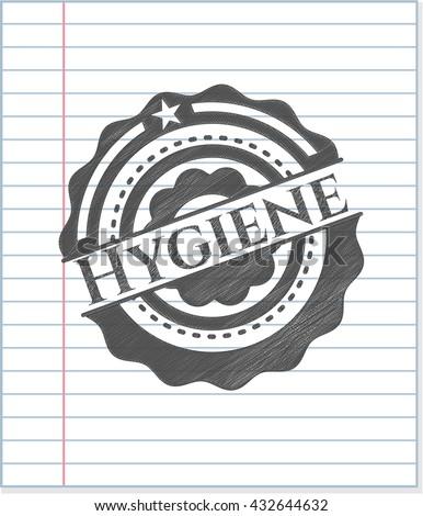 Hygiene pencil effect