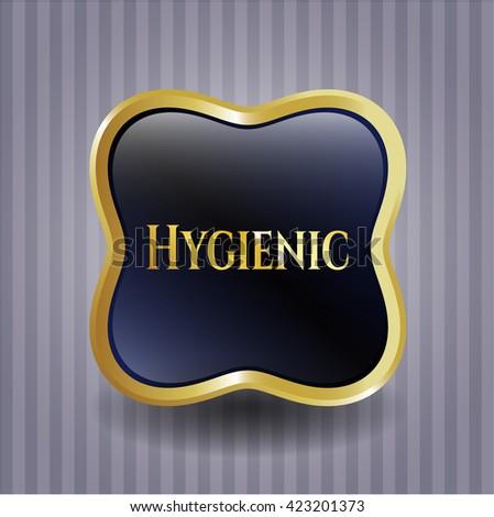 Hygienic gold badge