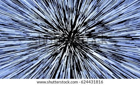 hyperspace jump  light speed up