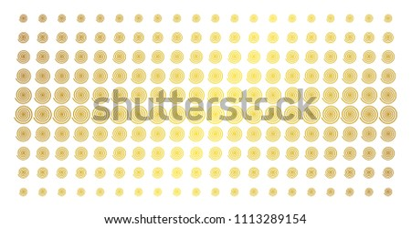 hypnosis icon gold colored
