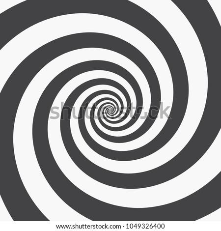 hypnotic spiral background