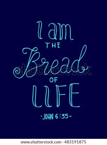 i am bread of life hand