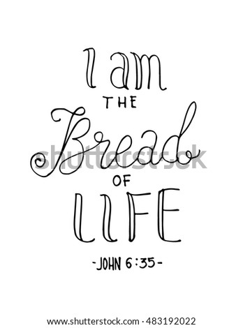 i am bread of life hand