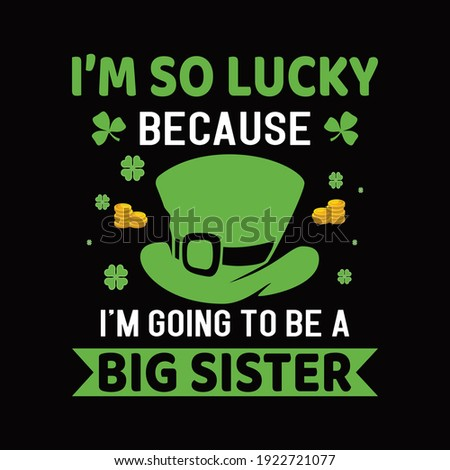 i am so lucky because i'm going