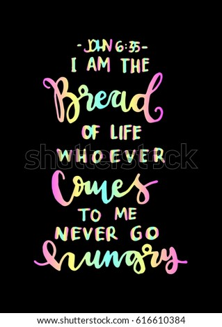 i am the bread of life bible