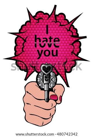 i hate you and i love you