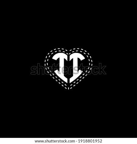 i i letter logo vector design