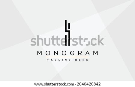 i  ii letters logo monogram