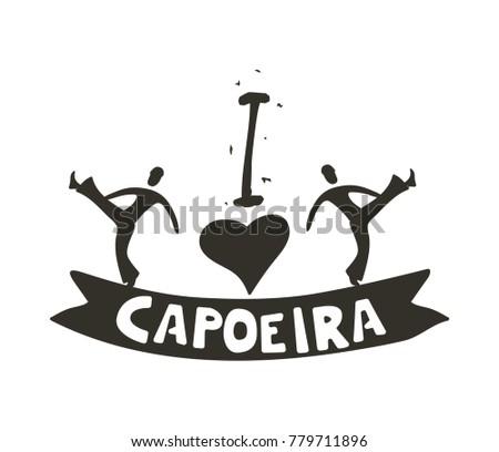 i love capoeira poster