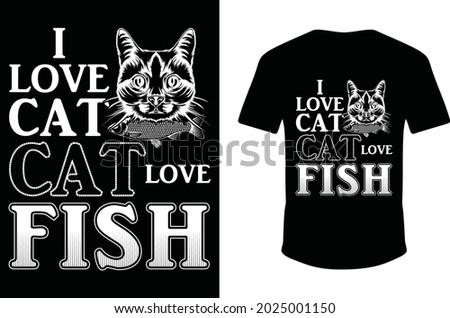 i love cat cat love fish cat