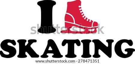 i love ice skating