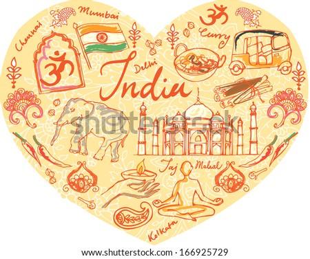 detail i love india - photo #22