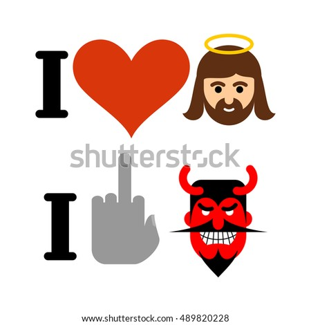 i love jesus christ heart and