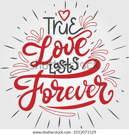 i love lasts forever hand