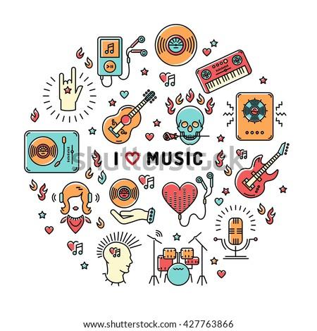 i love music   inspiring quote