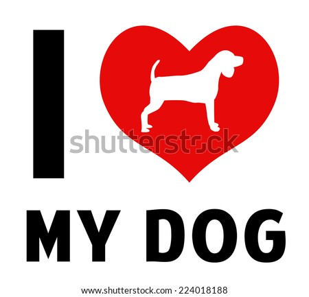 i love my dog image