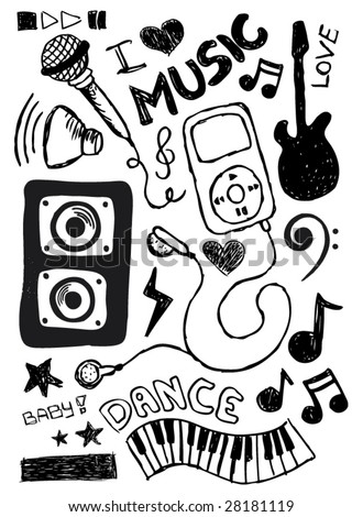 I love the way my music sounds doodles