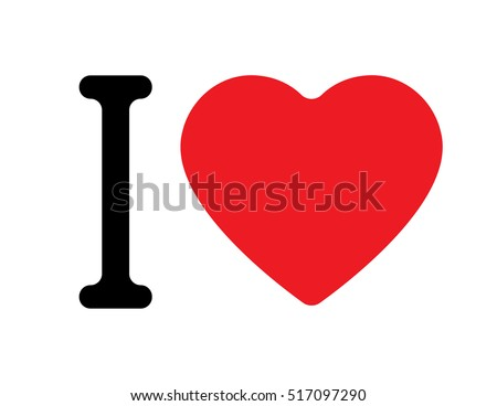 i love vector