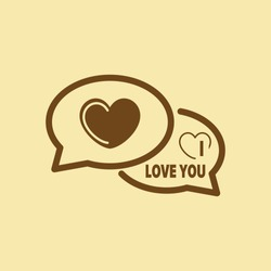 I Love You Comments Icon.
