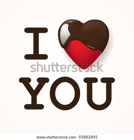stock-vector-i-love-you-written-with-chocolite-vector-illustration