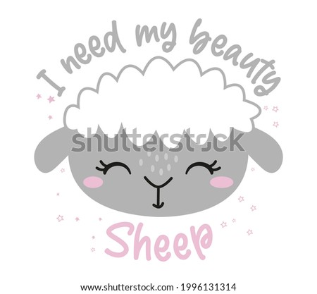 i need my beauty sheep  beauty