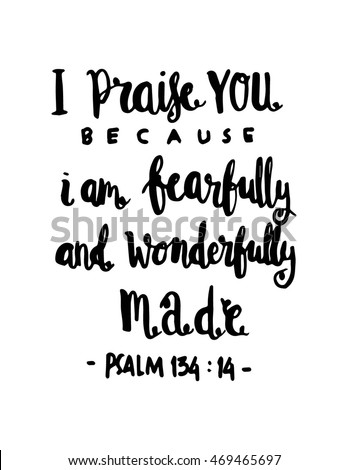 i praise you because i am