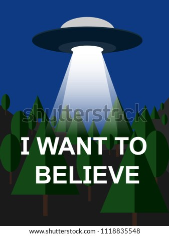 i want to believe with
