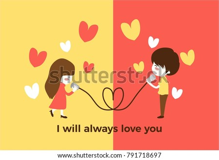i will always love you cute